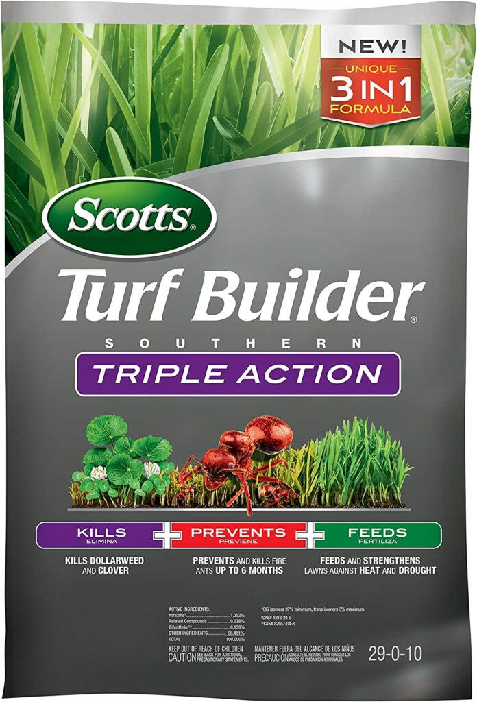 Scotts Turf Builder Southern Weed and Feed