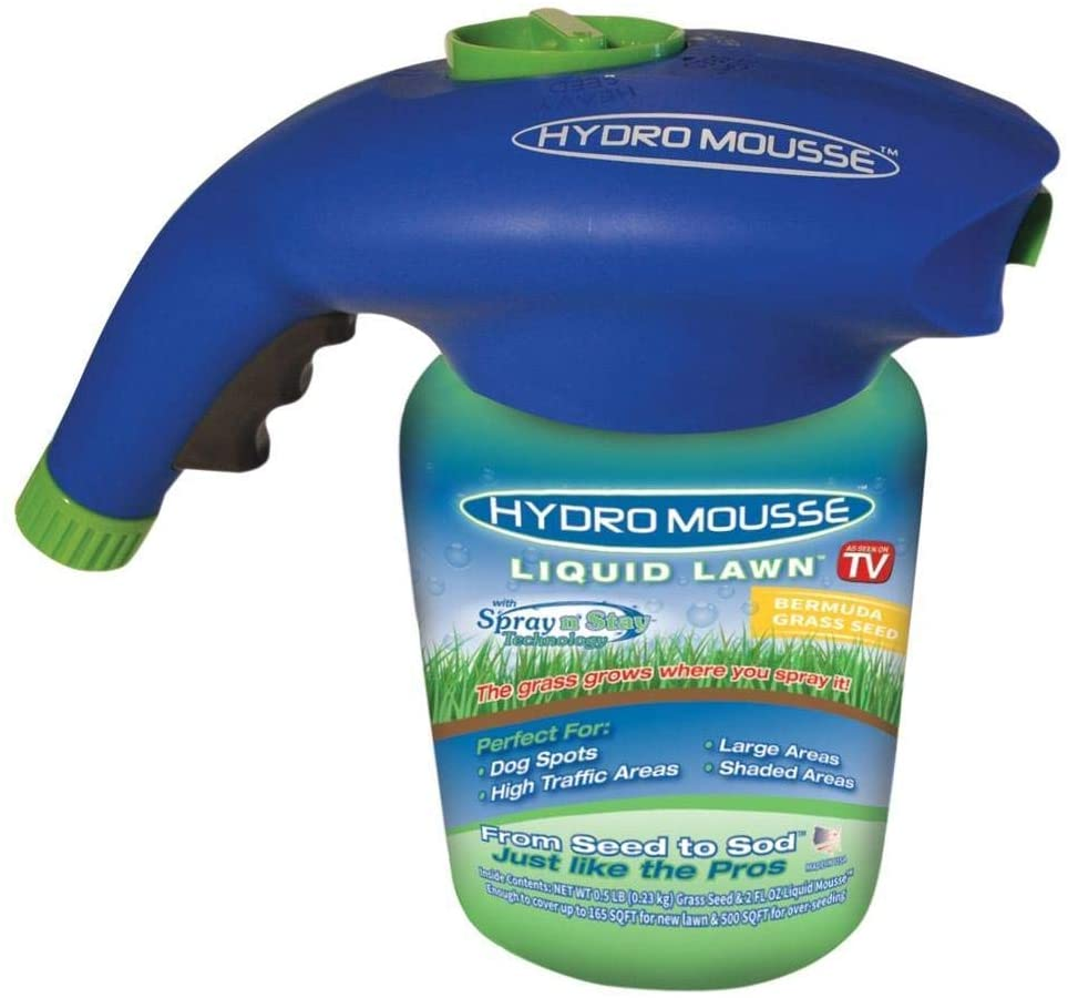 Hydro Mousse Liquid Bermuda Grass Seed – The Best for Repairing Patches